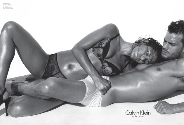 Eva Mendes For Calvin Klein Banned Ads