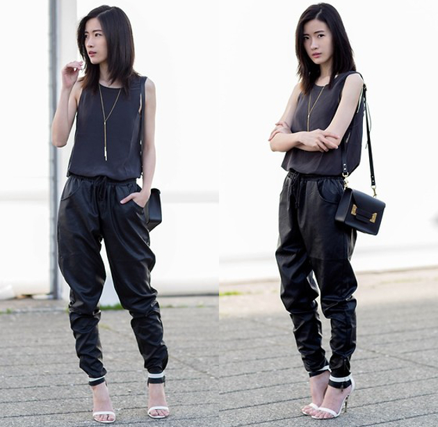 Joggers With High Heels