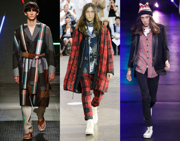 Mens Fashion 2016 Plaid And Tartan