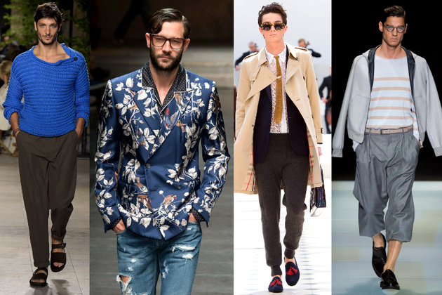 Men's Fashion Week 2016 Trends