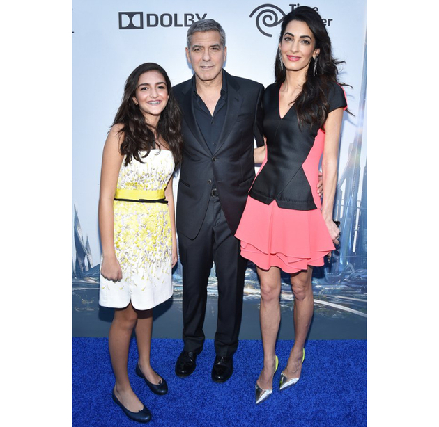 Amal Clooney 'Tomorrowland' Los Angeles Premiere
