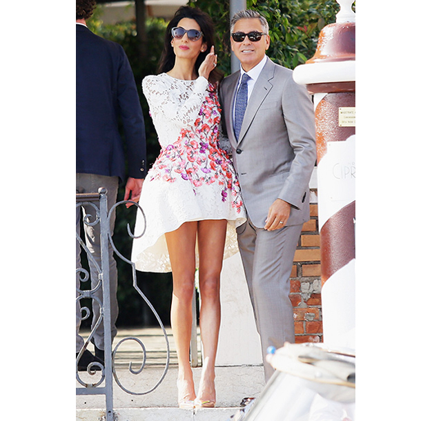 Amal Clooney The Post Wedding Brunch