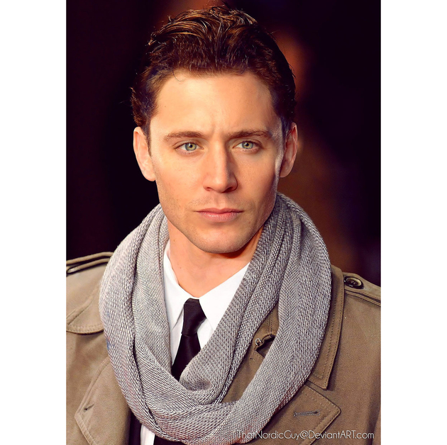 Jensen Ackles And Tom Hiddleston Face Mashup