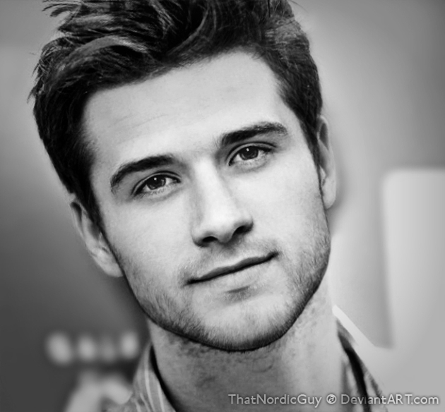 Josh Hutcherson And Liam Hemsworth Face Mashup