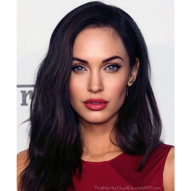 Angelina Jolie And Megan Fox Face Mashup
