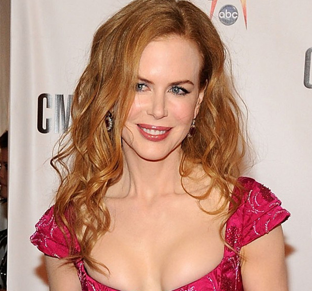 Nicole Kidman Cranberry Juice Hair Rinse