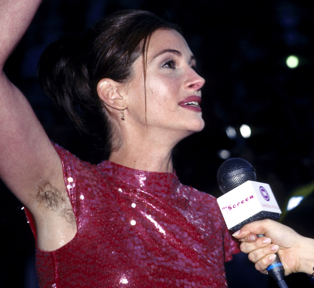 Julia Roberts Armpit Hair