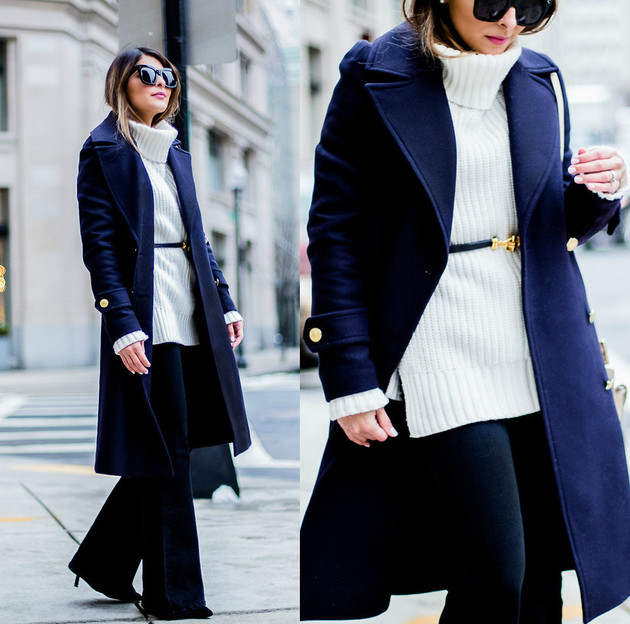 Flare Jeans Winter Style