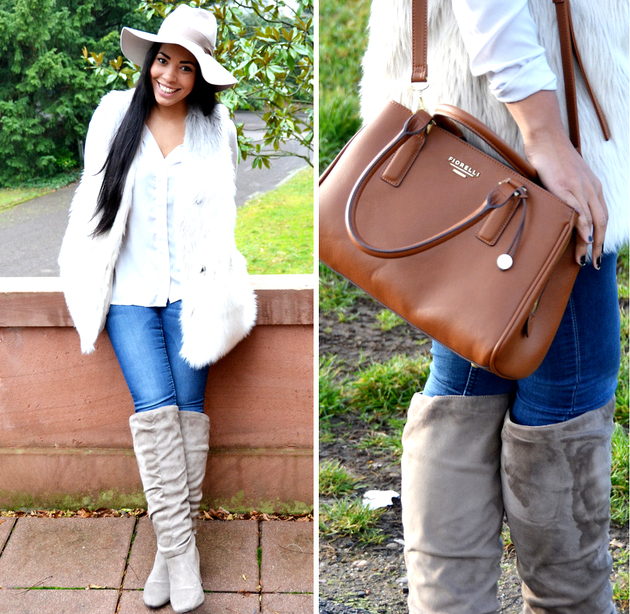Winter Style White Blouse