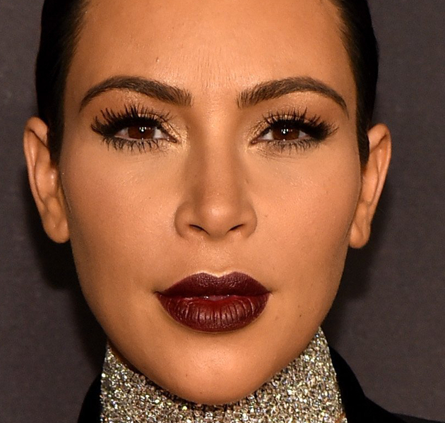 Kim Kardashian Best Celebrity Eyebrows