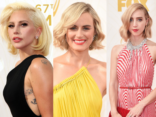 Bob Hairstyles Emmy 2015 Awards