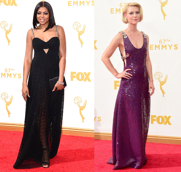 Chain Strap Dresses 2015 Emmy Awards