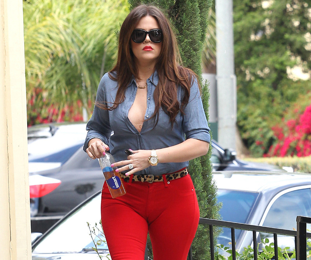 Khloe Kardashian Major Camel Toe