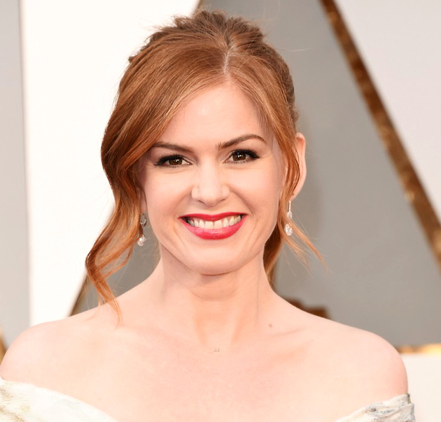 Oscars Hairstyles 2016 Isla Fisher