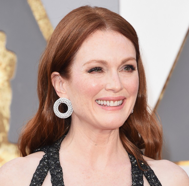 Oscars Hairstyles 2016 Julianne Moore