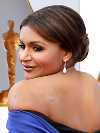 Oscars Hairstyles 2016 Mindy Kaling