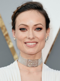 Oscars Hairstyles 2016 Olivia Wilde