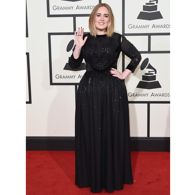 Grammys 2016 Dress Adele