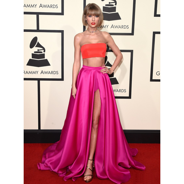 Taylor Swift Grammys 2016 Dress