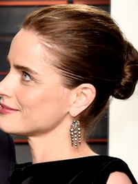 Oscars 2016 Party Hairstyles Amanda Peet