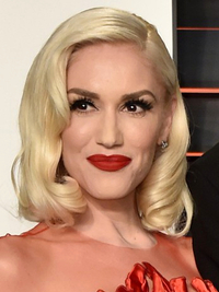 Oscars 2016 Party Hairstyles Gwen Stefani