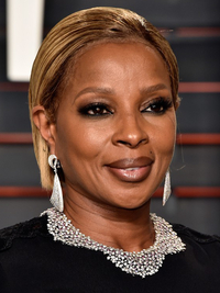 Oscars 2016 Party Hairstyles Mary J Blige