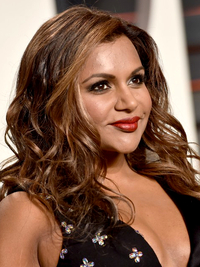 Oscars 2016 Party Hairstyles Mindy Kaling