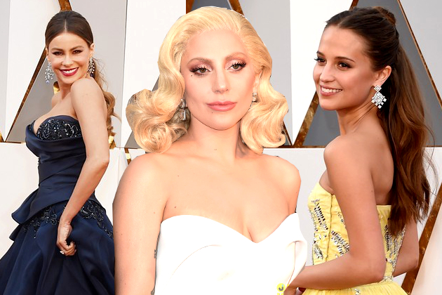 2016 Oscars Hairstyles: Updos, Down-dos, Ponytails