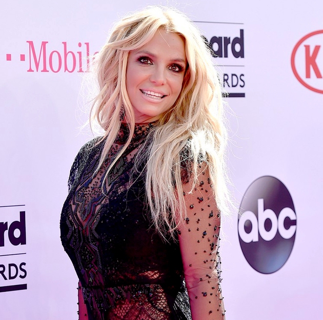 Britney Spears Hairstyle 2016 Billboard Awards