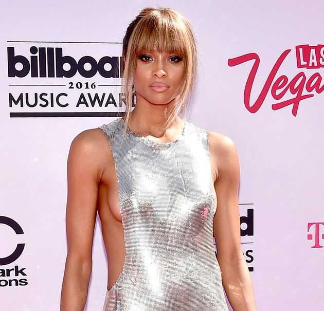 Ciara Hairstyle 2016 Billboard Awards