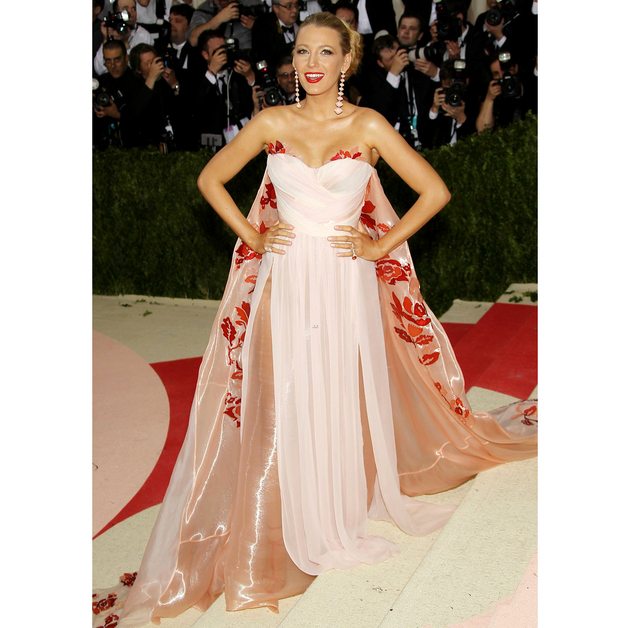 Blake Lively 2016 Met Gala Dress