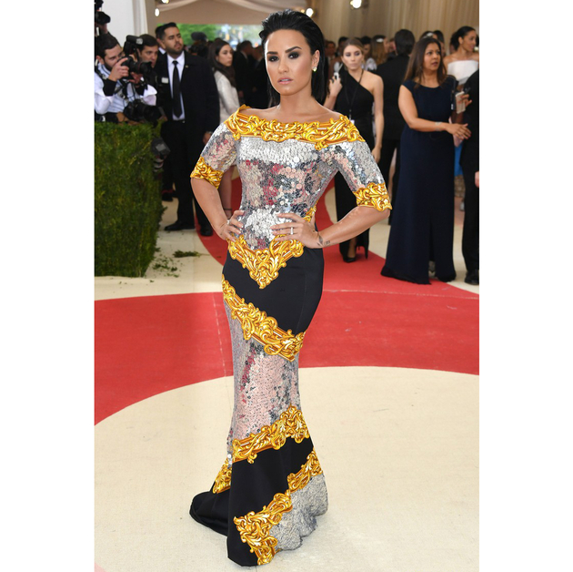 Demi Lovato 2016 Met Gala Dress