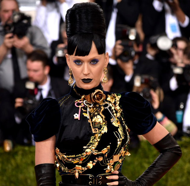 Katy Perry Hairstyle 2016 Met Gala