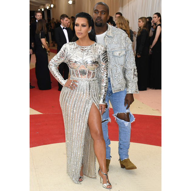 Kim Kardashian 2016 Met Gala Dress