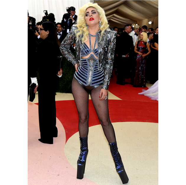 Lady Gaga 2016 Met Gala Look