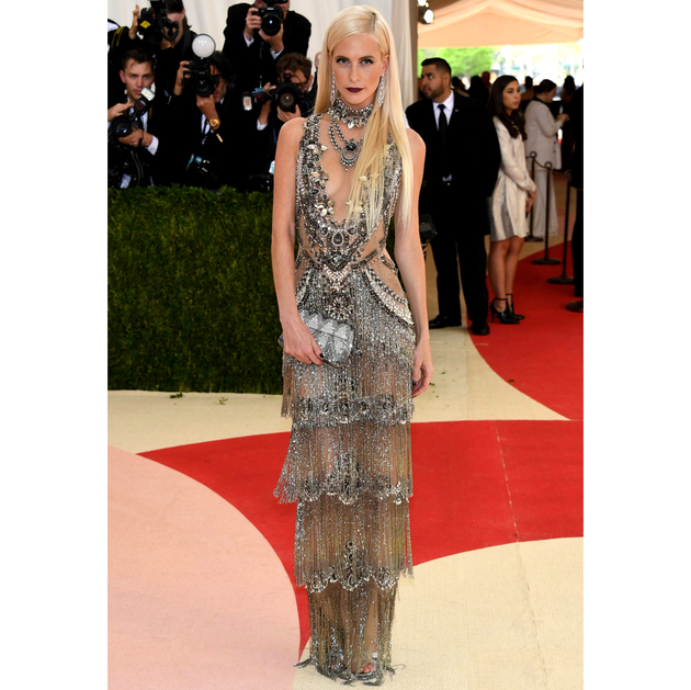 Poppy Delevingne 2016 Met Gala Dress
