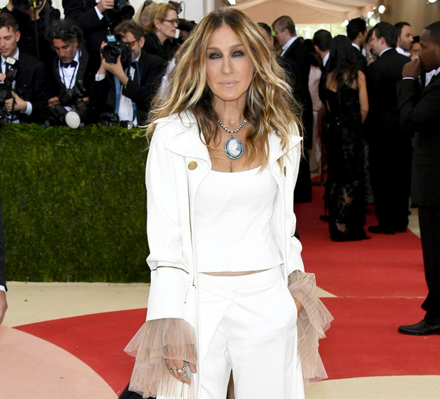 Sarah Jessica Parker Hairstyle 2016 Met Gala