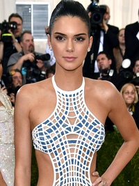 Kendall Jenner Hairstyle 2016 Met Gala