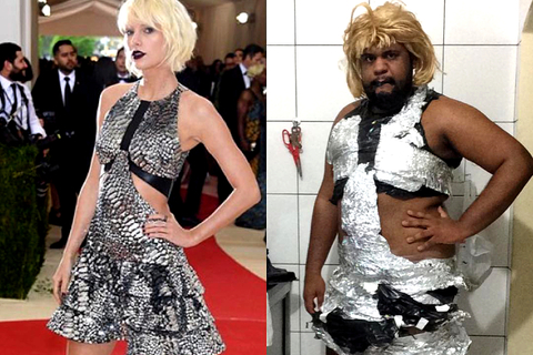 Instagram Guy Recreates  2016 MET Gala Dresses