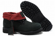 Mens-timberland-roll-top-boots-black-red-001-01
