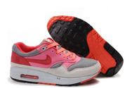 Service-online-store-famous-footwear-store-air-max-1-id-graphite-light-grey-pink-infrared-running-shoes
