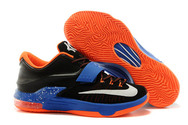 Best-quality-factory-stock-nike-zoom-kd-7-fashion-016-01-okc-away-black-photo-blue-hyper-crimson-metallic-silver-trainers