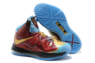 Best-quality-factory-stock-new-design-sneakers-online-sale-nike-lebron-x-06-001-ironman-3-customs-by-mache-for-lebron-james-wine-and-gold