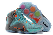Best-quality-factory-stock-best-quality-lebron-12-discount-009-01-teal-orange-grey-nike-brand-shoes