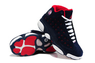Women-air-jordans-13-suede-blue-red-white-fashion-style-shoes