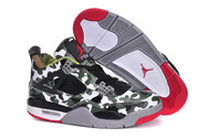Hot-sale-air-jordan-4-brand-new-6005-01-camouflage-army-green-black-red-nike-shoes