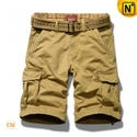 Khaki_cargo_hiking_shorts_140173a