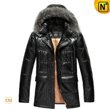 Mens-hooded-black-leather-down-jacket-cw848037-1379313450_org_large