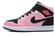 Airjordanbrand-hot-buy-women-j1-nike-001-01-mid-ion-pink-black-gym-red-white-shoe