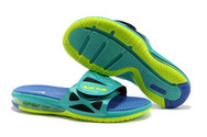Air-kings-lebron-fashion-shoes-online-694-nike-air-lebron-10-slippers-jadeblueyellow